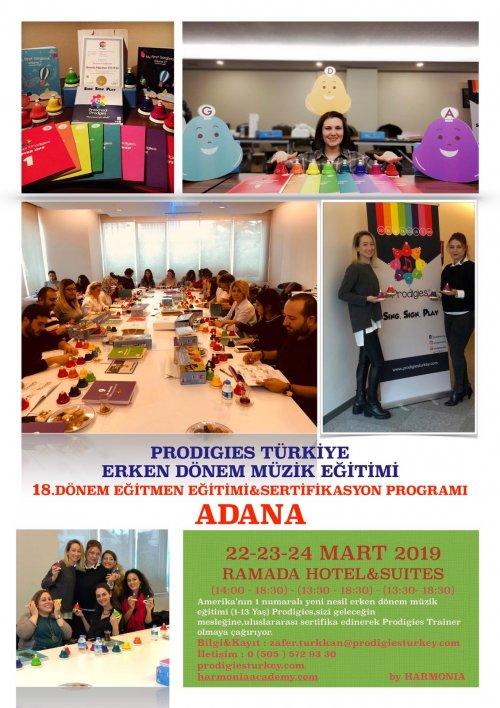 Prodigies Türkiye Erken Dönem Müzik Eğitimi 18. Dönem Eğitmen Eğitimi