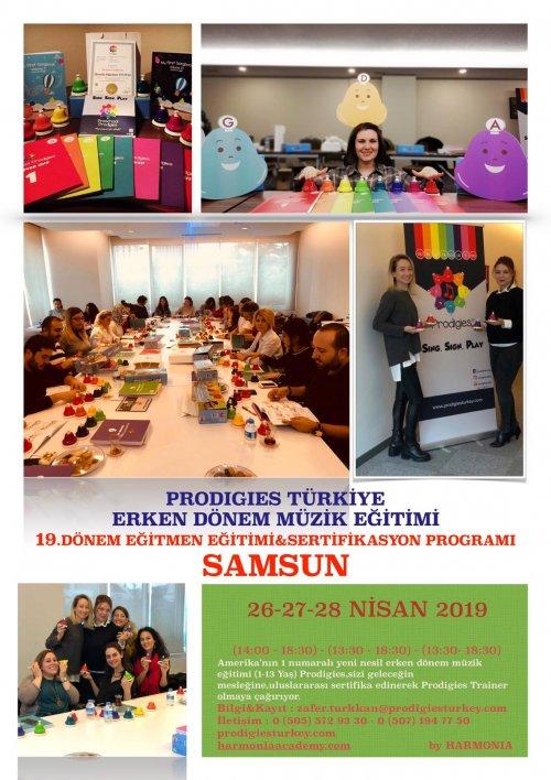 Prodigies Türkiye Erken Dönem Müzik Eğitimi 19. Dönem Eğitmen Eğitimi