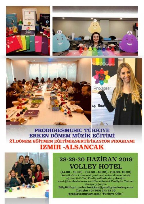 Prodigies Türkiye Erken Dönem Müzik Eğitimi 21. Dönem Eğitmen Eğitimi