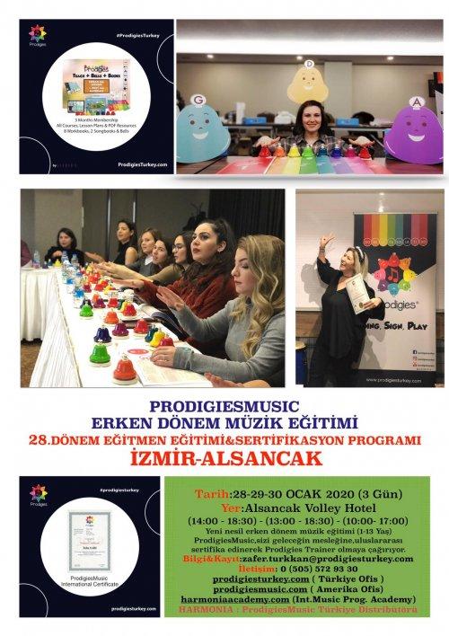 Prodigies Türkiye Erken Dönem Müzik Eğitimi 28. Dönem Eğitmen Eğitimi