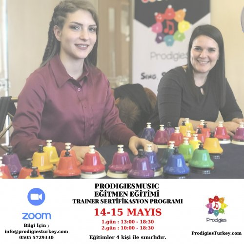 ProdigiesMusic Türkiye Erken Dönem Müzik Eğitimi - ONLINE