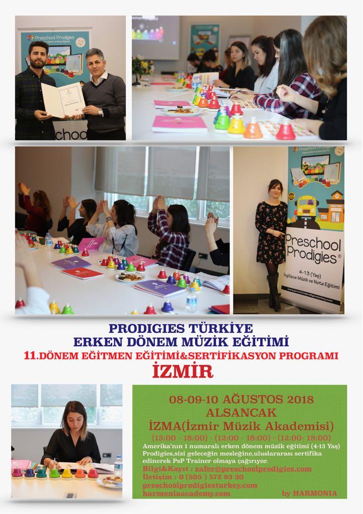Prodigies Türkiye Erken Dönem Müzik Eğitimi 11. Dönem Eğitmen Eğitimi