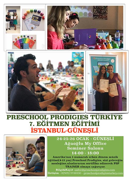 Prodigies Türkiye Erken Dönem Müzik Eğitimi 7. Dönem Eğitmen Eğitimi
